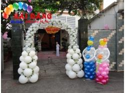 Cổng Bong Bóng Tiệc Cưới 010