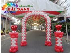 Cổng Bong Bóng Tiệc Cưới 012